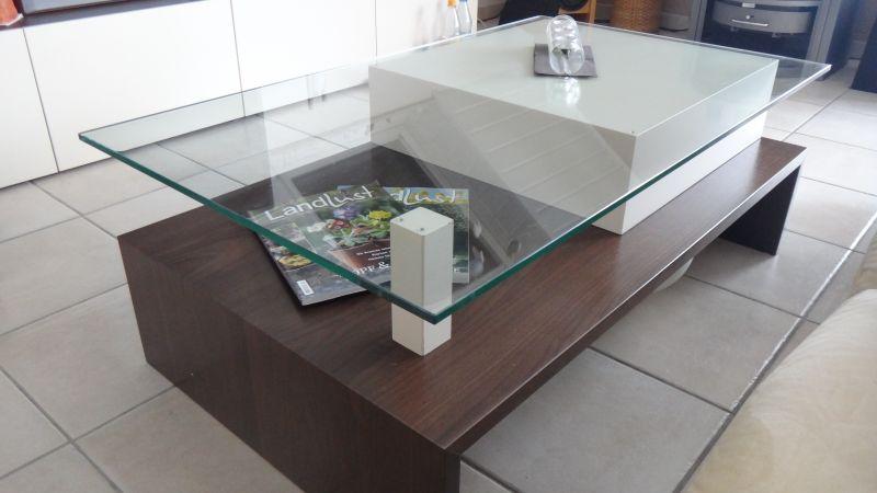 Glastisch Nussbaum Image