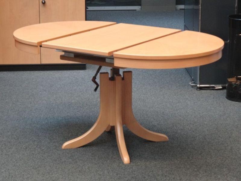 Runder Tisch mit Klappeinlage Image
